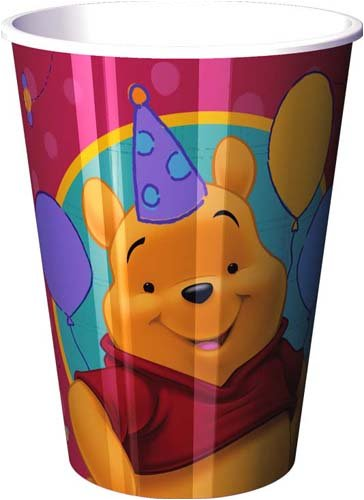 Winnie the Pooh 1 Year Fun Party Cup 16 Oz
