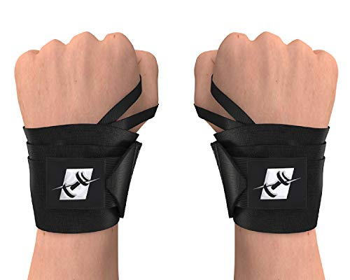 ProFitness 18″ Weight Lifting Wrist Wraps W/Thumb Loop Hole for Men & Women | Great for Weightlifting, Powerlifting, Cross Training & Strength Training | Premium Wrist Stability & Injury Prevention