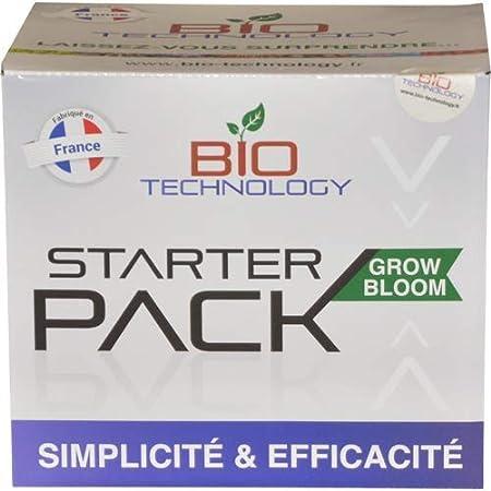 Bio Technology®   Fertilizante Completo y Paquete de Refuerzo   Fertilizante de Crecimiento y Floración de Calidad   Paquete A1 = 5 Productos   Starter Pack Grow Bloom