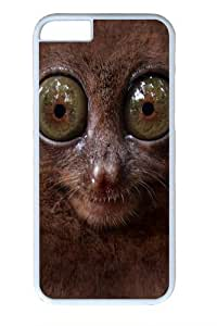 Big Face Tarsier PC Case Cover For SamSung Galaxy Note 2 and White