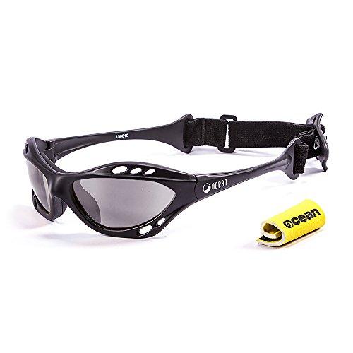 Ocean Sunglasses Cumbuco - lunettes de soleil polarisées - Monture : Noir Mat - Verres : Fumée (15000.0) 6H7ph1X8