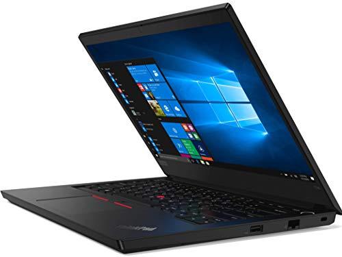 Lenovo ThinkPad E14 Intel Core i3 10th Gen 14-inch Full HD Thin and Light Laptop (4GB RAM/ 1TB HDD/ Windows 10 Home/ Black/ 1.69 kg), 20RAS0SG00
