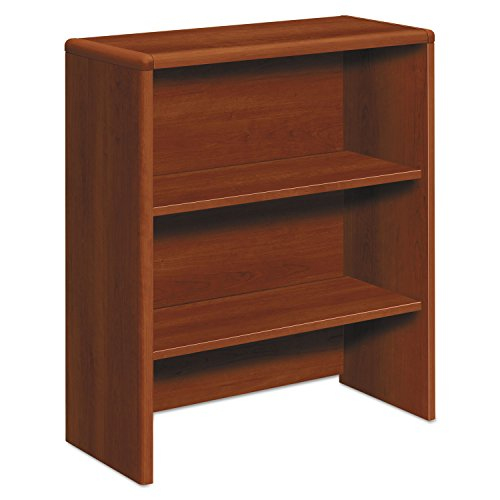 (Miller Supply Inc HON 107292CO 10700 Series Bookcase Hutch, 32 5/8w x 14 5/8d x 37 1/8h, Cognac)