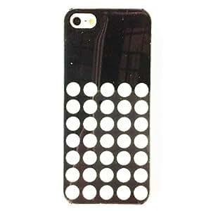 Punk modelo de punto de TPU suave para el iPhone 5/5S , Multicolor