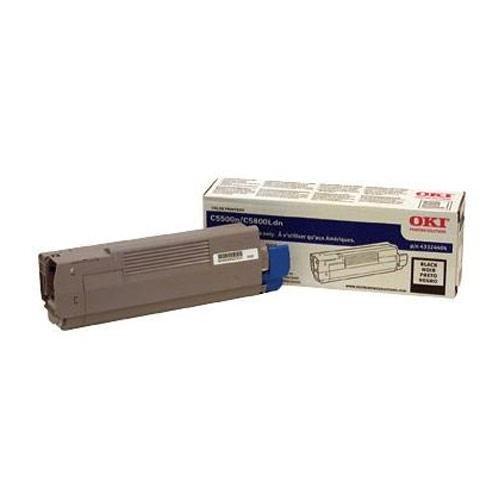 Oki Black Toner Cartridge. 5K PAGES BLACK TONER F/ C5500N C5800LDN L-SUPL. LED - 5000 Page - Black