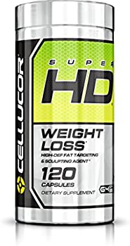Cellucor 101300 SuperHD Thermogenic Fat Burner 120 Capsules