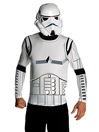 Star Wars Adult Stormtrooper Costume Kit, White,