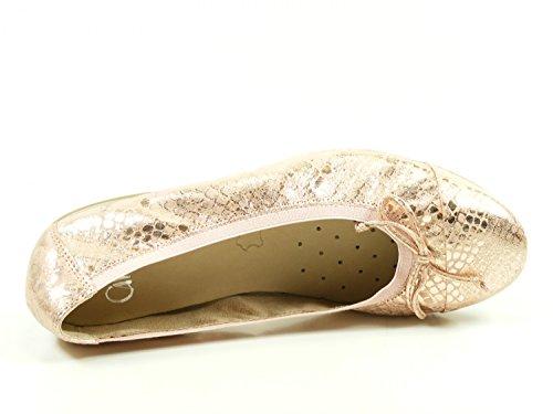 Caprice 9-22159-28 Damesschoenen Pantoffel Metallic Roze Ballerinas
