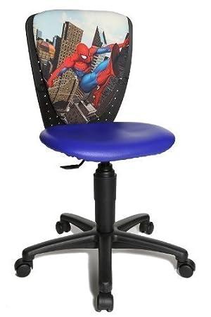 De S'cool Pour Enfant 3 High Chaise Bureau Spiderman Motif Topstar PTuZOkXi