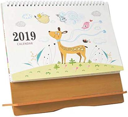 Spiralbindungsplan für den Monatsplaner August 2018 - Dezember 2019