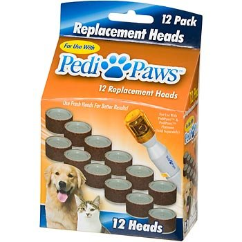 PediPaws Replacement Filing Heads – As Seen on TV, My Pet Supplies