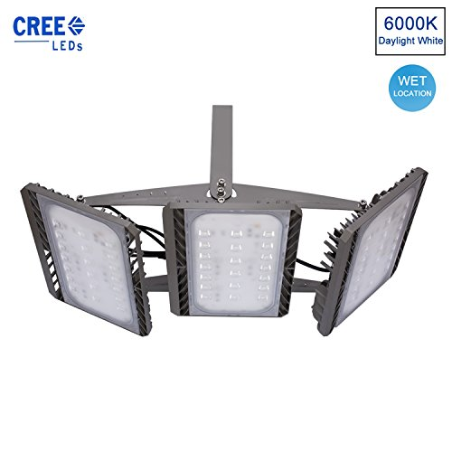 stasun led outdoor flood light 300w 900w equivalent super bright
