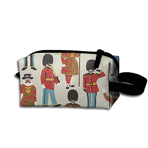 Man Being Carried Costume (Graphic nutcracker ballet Portable Pencil Case Pouch Tote Shopping Bag Travel Cosmetic Bags Make-up Travel Bag Tool Tote Bag Accessories Pouch For Mens Women High School Christmas Gifts)
