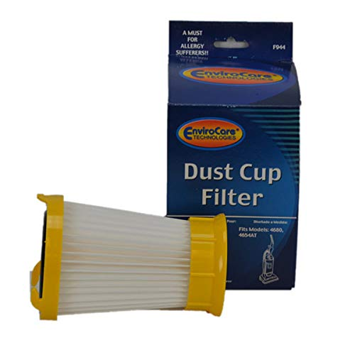 (TVP Eureka Style DCF-2, 4680, 4654 Upright Envirocare Hepa Dust Cup Filter # 944)
