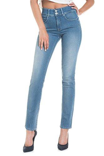 Salsa Jeans Push In Secret slim - Femme Bleu