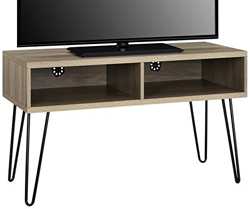Ameriwood Home 1748496COM Owen Collection Retro TV Stand, Rustic Oak - Ameriwood Tv Stand
