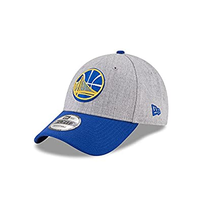 """New Era Golden State Warriors 9Forty Grey The League Heather 3"""" Adjustable Hat/Cap by New Era"""