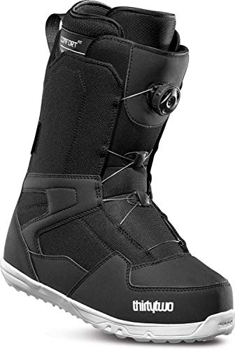 thirtytwo Shifty Boa '18 Snowboard Boots, Black, ()