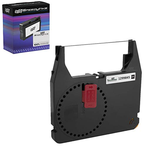 Speedy Inks Compatible Printer Ribbon Cartridge Replacement for IBM 1299845 (Black)