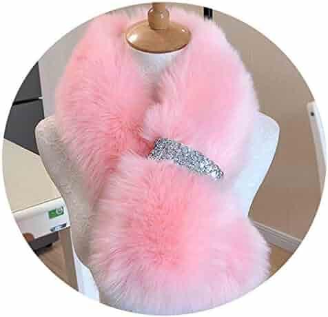 42549ffa8da fashion faux mink fur scarf women warm short fur collar scarfs imitation fur  wraps neck winter