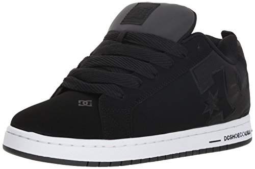- DC Men's Court Graffik SE Skate Shoe, Black camo, 14 Medium US
