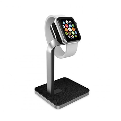 Mophie Charging Dock/Stand for Apple Watch – Silver (Certified Refurbished)