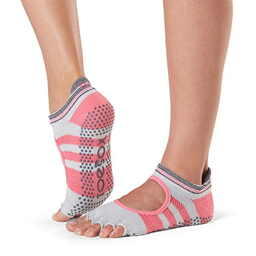 amp; slip Bellarina Donna Ballet Whip Yoga Half For Grip Barre Socks non Toesox Calze Toe Pilates qUfwPAUF