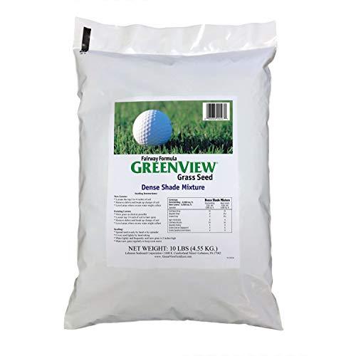 Grow Seed Quick Grass (GreenView Fairway Formula Grass Seed Dense Shade Mixture, 10 lb Bag)