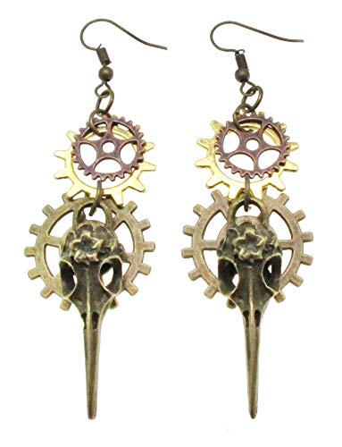 SAE99 Steampunk Collection Dangle Drop Earrings