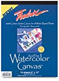 Fredrix Watercolor Canvas Pad 16X20