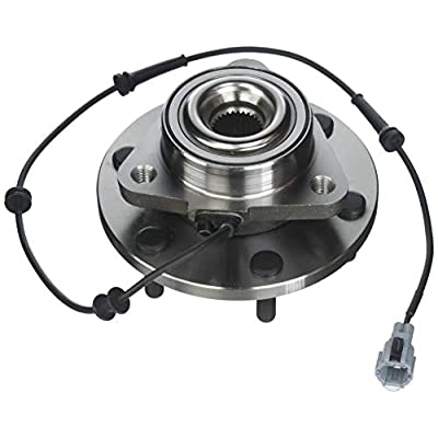 ECCPP Wheel Hub and Bearing Assembly front 515066 fit 2004-2008 Nissan Titan Armada Infiniti QX56 Replacement for 6 lugs wheel hub with ABS 3 Bolt Flange 1 piece: Automotive