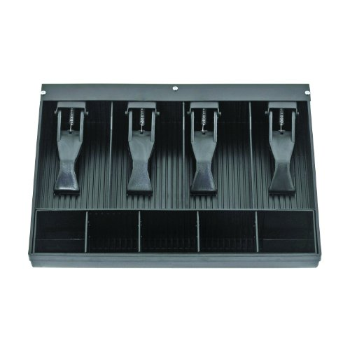 STEELMASTER 2.19 x 9.63 x 11.5 Inches, Replacement Cash Tray for Model 1046, Black (225284304) (Cash Drawer Black)
