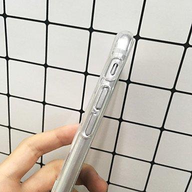 Fundas y estuches para teléfonos móviles, Para el iphone 7 más la caja animal de la contraportada del patrón transparente de la cubierta de la caja de 7 casos tpu suave para el ( Modelos Compatibles : IPhone 7 Plus