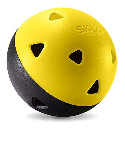SKLZ Impact Balls - Heavy-Duty, long lasting limited flight mini training (Practice Bat)