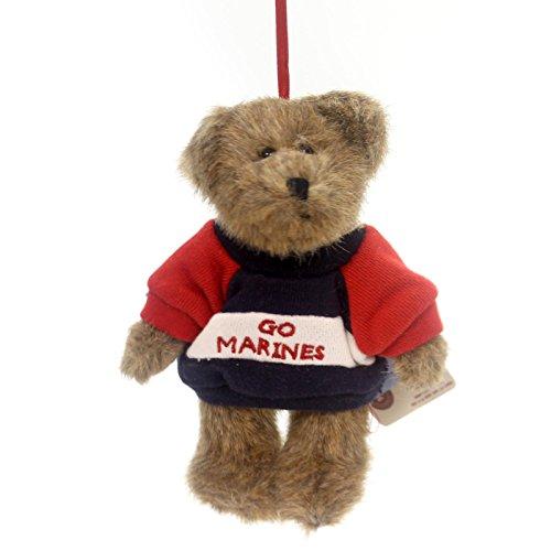 BOYDS BEARS PLUSH GO Marines Ornament Fabric Military Teddy Bear Jointed 562765