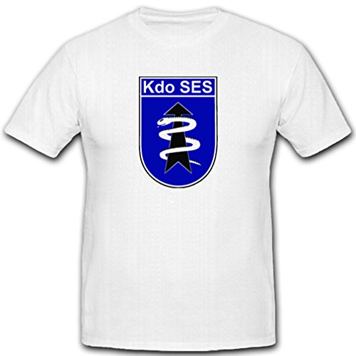 T-shirt Unit Commando - Kdo Ses Commando Rapid Assistance Medical Service Bundeswehr Unit Badge