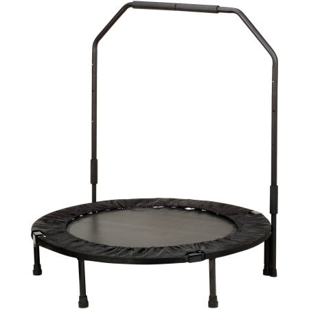40'' Foldable Trampoline with Stabilizing Bar