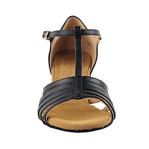 Gold Pigeon Shoes 50 Shades Of Low Heel Dance Shoes Dance Dress Shoes Collection (Vegan Available): Women Ballroom, Latin, Tango, Salsa, Swing, Practice, Theather Art by 50 Shades S9273 Black Leather
