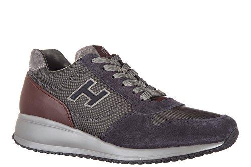 Hogan zapatos zapatillas de deporte hombres en ante nuevo interactive n20 h floc