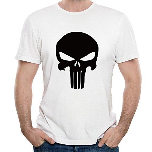 Adela_D Comics Punisher Logo 34-01 Men's T Shirts