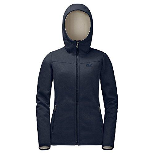 Jack Wolfskin Womens Terra Nova Bay Jacket  Midnight Blue  Large