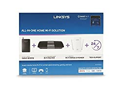 Linksys AC1600 Wi-Fi Wireless Dual-Band + Linksys CM3008 High Speed DOCSIS 3.0 8x4 Cable Modem (Certified Refurbished)