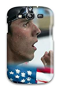 Everett L. Carrasquillo's Shop New Style Awesome AnnaSanders Defender Tpu Hard Case Cover For Galaxy S3- Michael Phelps Poster 1478288K64279694