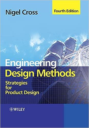 Engineering Design Methods Strategies For Product Design Cross Nigel 9780470519264 Amazon Com Books