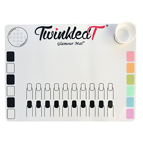 Twinkled T Nail Art Glamour - Stamping Mat