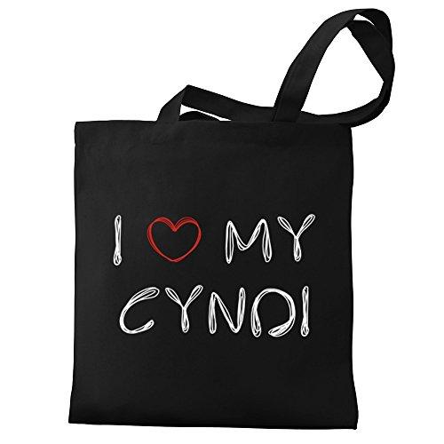 Eddany I love my Cyndi Bereich für Taschen d6Xqdgv