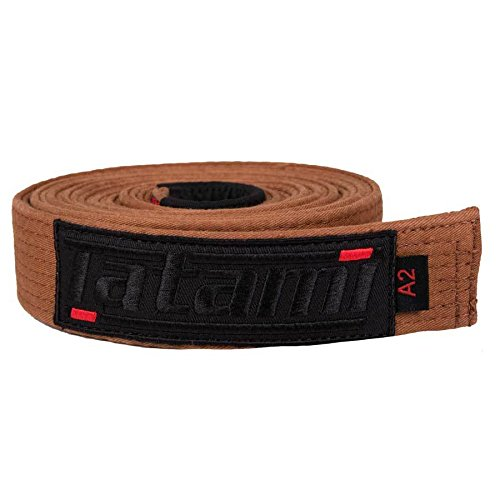 Tatami Fightwear Unisex's DLX-bwn-Belt-A2 Deluxe BJJ, Brown, One Size