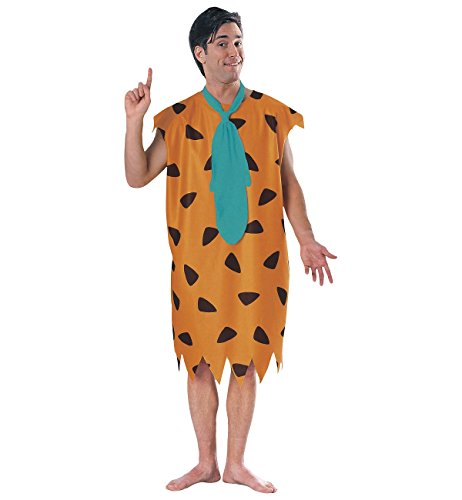 Fred And Wilma Flintstone Costumes (Fred Flintstone Adult Costume - X-Large)