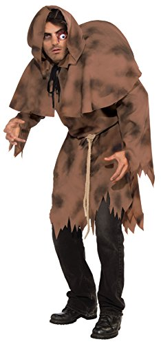 Notre Dame Costumes (Forum Novelties Men's Adult Hunchback Costume, Brown, One Size)
