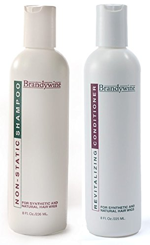 (Brandywine Non Static Shampoo & Revitalizing Conditioner 8 Ounce., Value Pack Bundle 2 items)